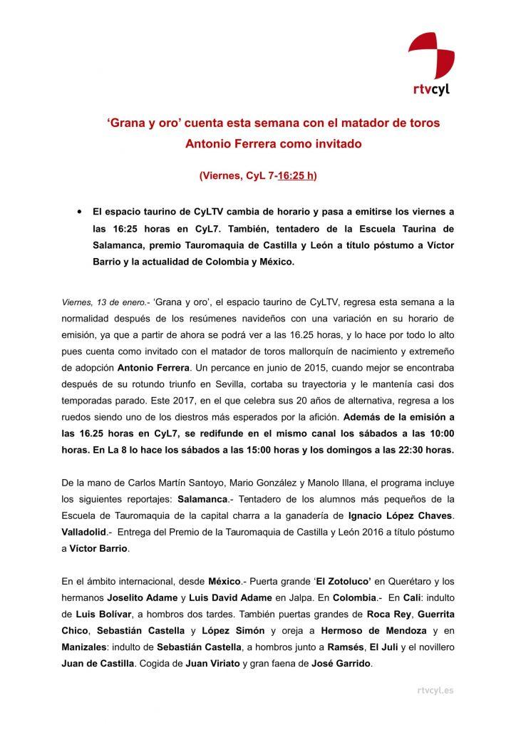 NdP Grana y Oro. 13.01.17-1