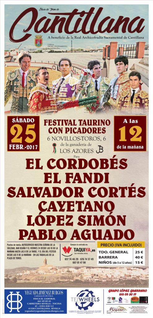 Cantillana Cartel Festival 2017