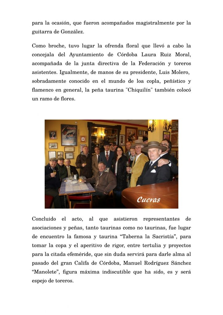 Celebrado por la Federación Provincial Taurina de Córdoba-3
