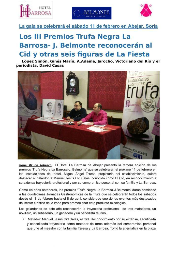 Nota de prensa Premios La Barrosa. 2017 posterior-1