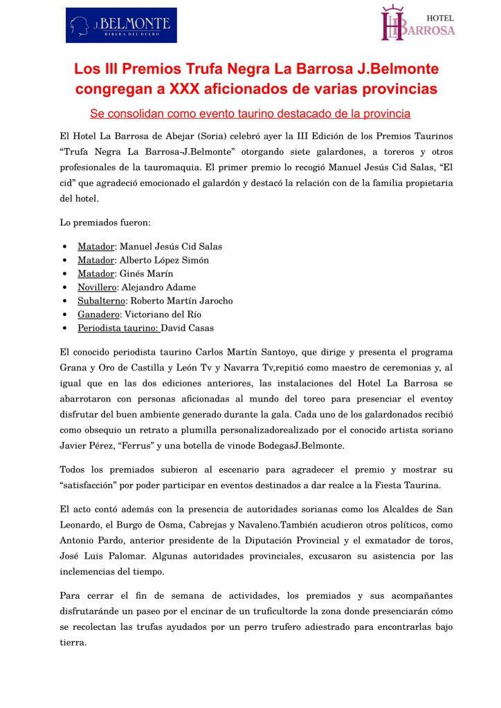 Nota de prensa post entrega 2017-1