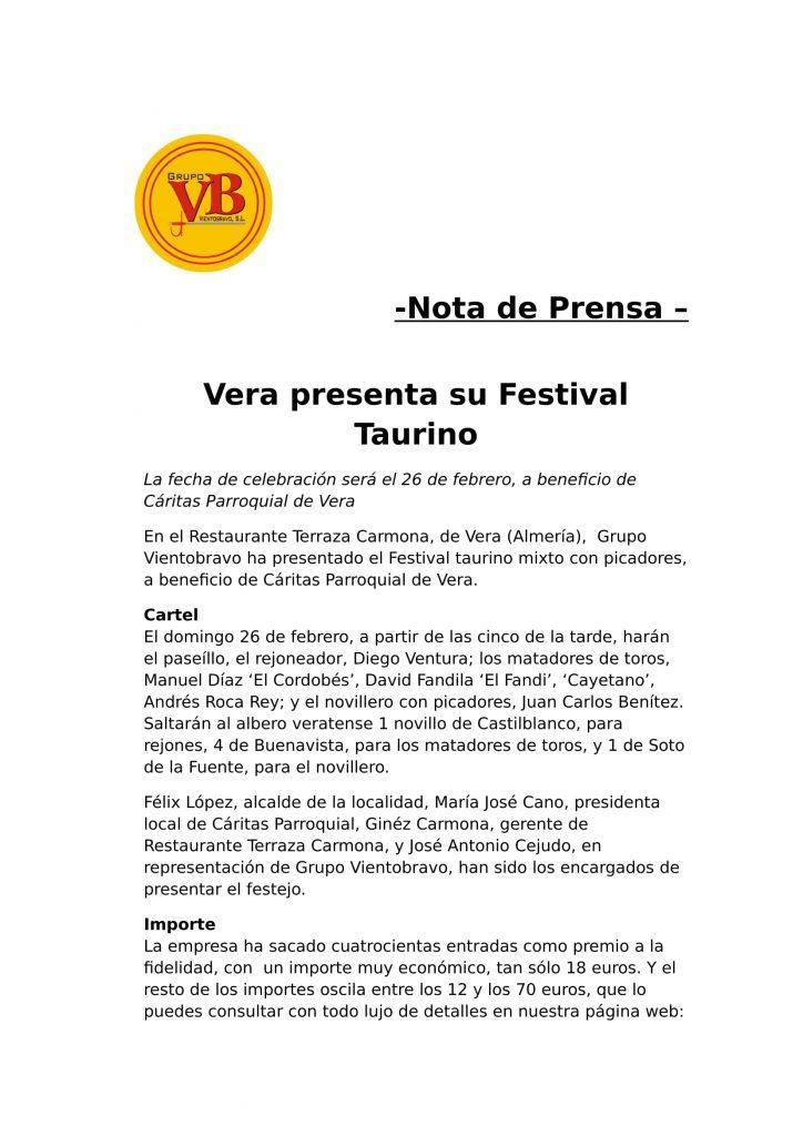Vera 2017 - Festival Taurino-1