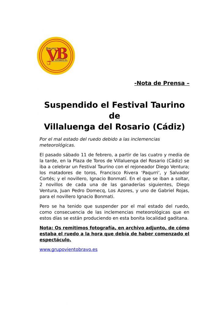 Villaluenga del Rosario 2017 - Suspensión Festival-1