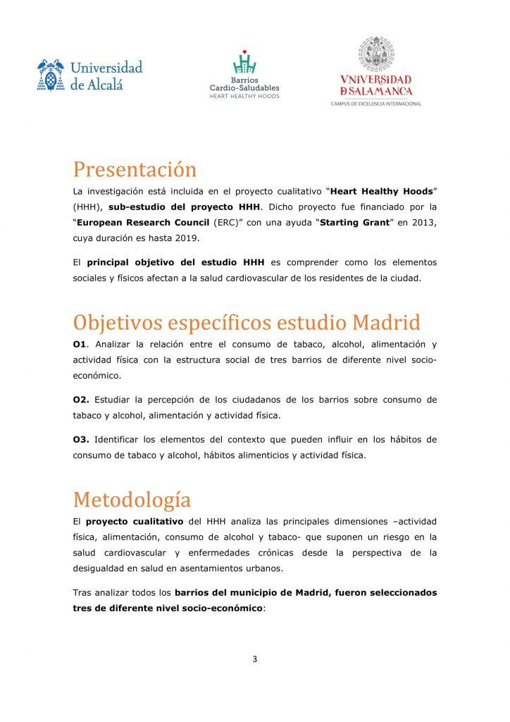 Dossier Prensa Estudio Entorno Urbano Y Salud Para Info